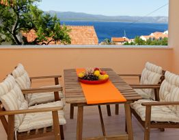 Ferienwohnung Iris 1✶2 BR apt✶sea view balcony✶parking✶adults only