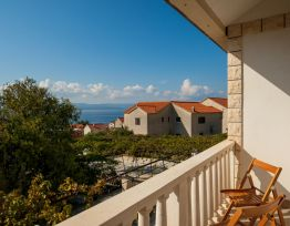 Apartment Livia 6★1 BR apt★3 min from beach★sea view balcony★pick up