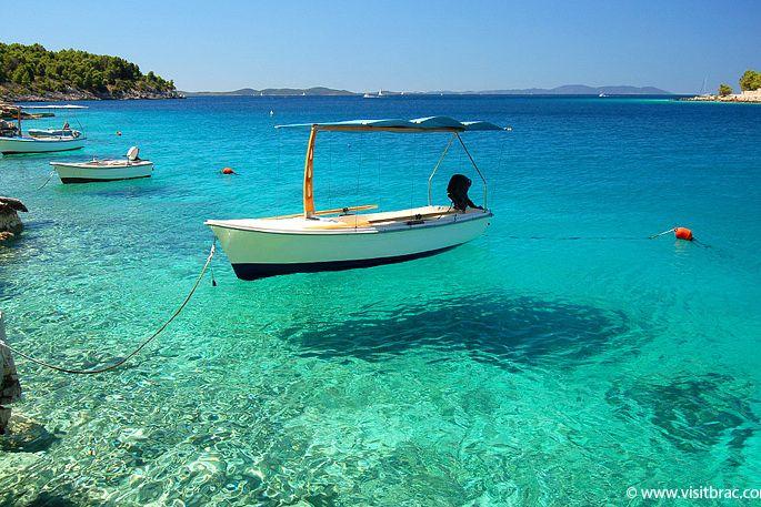Bay Lučice Duboka Milna Island Brač Croatia