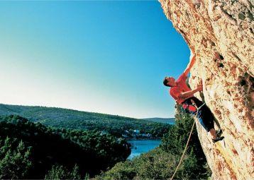 Sport climbing - Ložišća, Island Brač
