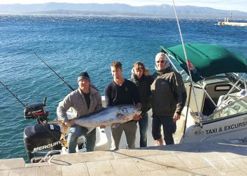 Big game fishing, private boat tours