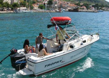 Private boat tours, Bol boat service