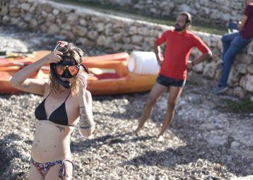 Kayak Supetar - Splitska - Postira
