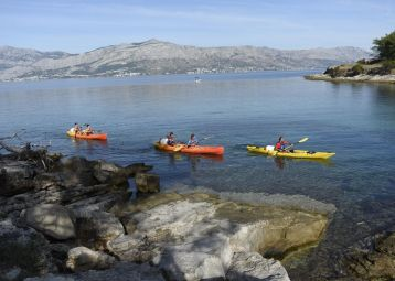 Kayaking Postira - Pučišća