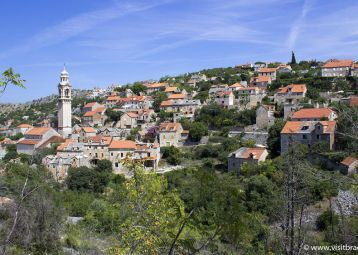 5 must see locations in the northern part of Brač island