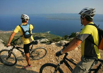 Mountain biking from the summit to the sea