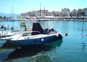 Taxi boat, Supetar