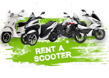 Rent a scooter Brač