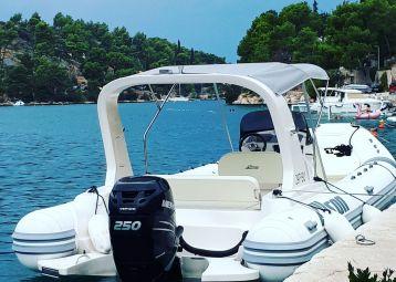 Taxi boat, Split airport - Island Brač